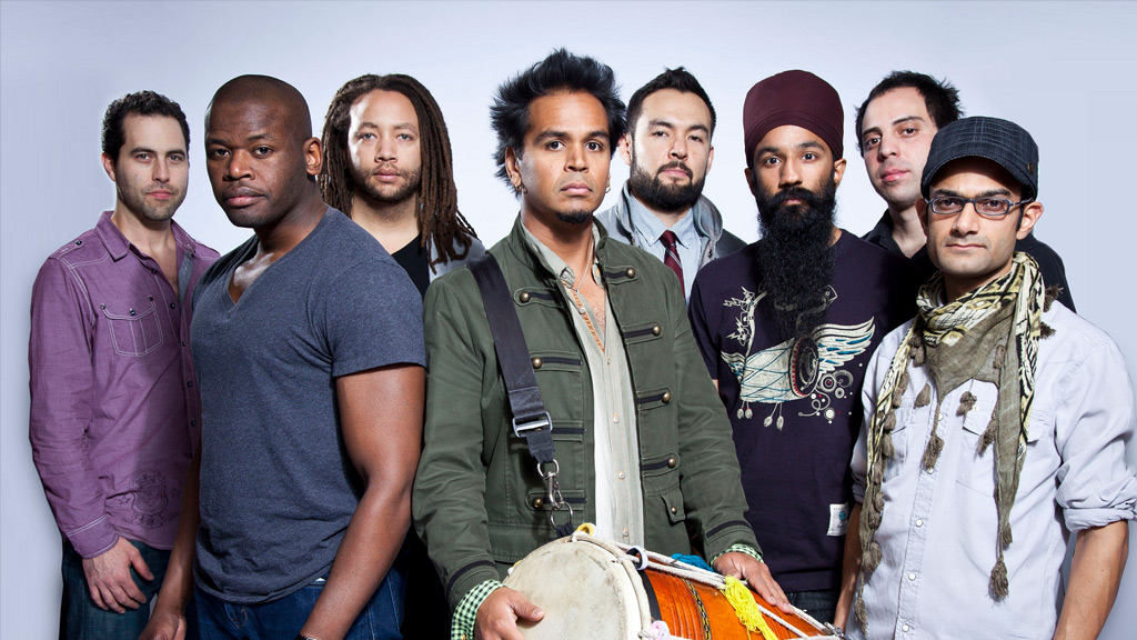 Dhol 'n' brass band Red Baraat play WOMAD