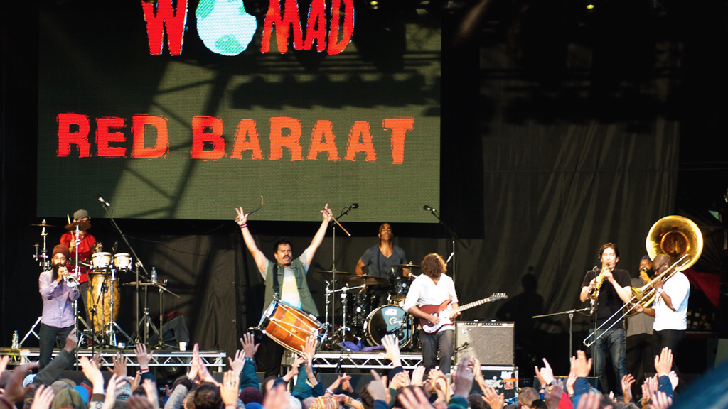 Red Baraat wow the crowds at WOMAD